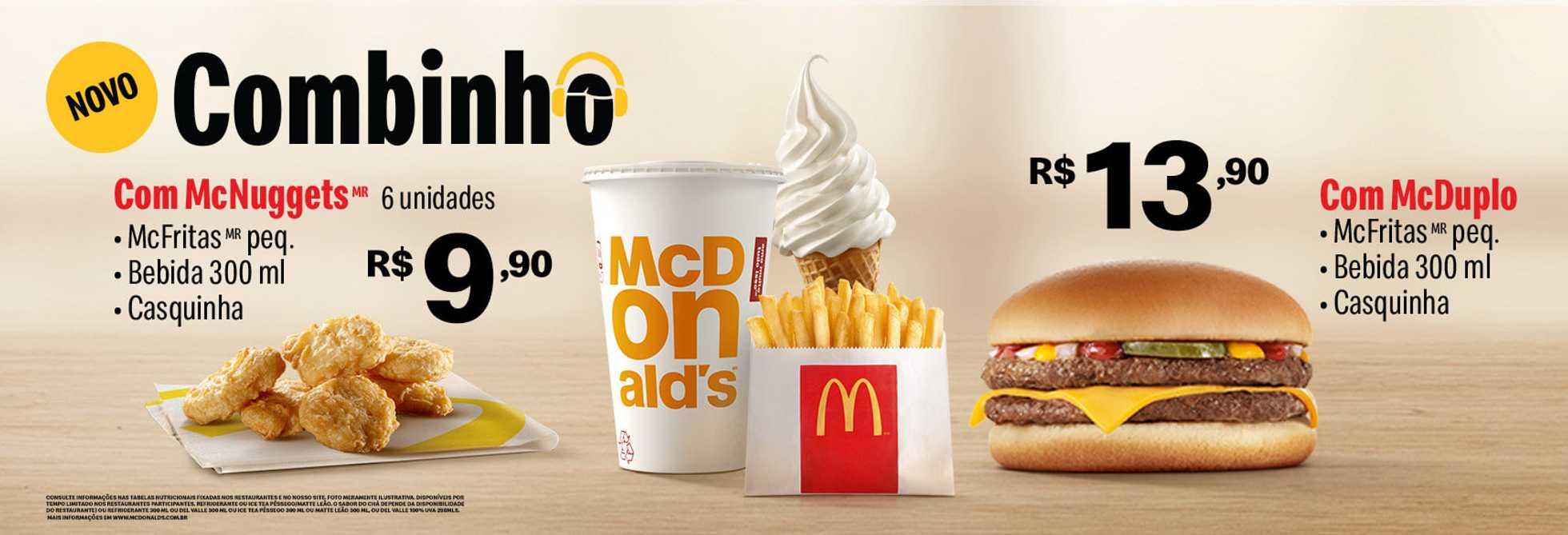 McDonald's - encarte válido de 16.09.2019 até 28.09.2019 - página 1.