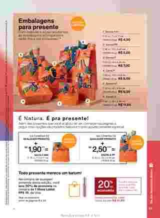 Natura - encarte válido desde 09.04.2020 até 31.05.2020 - página 33.