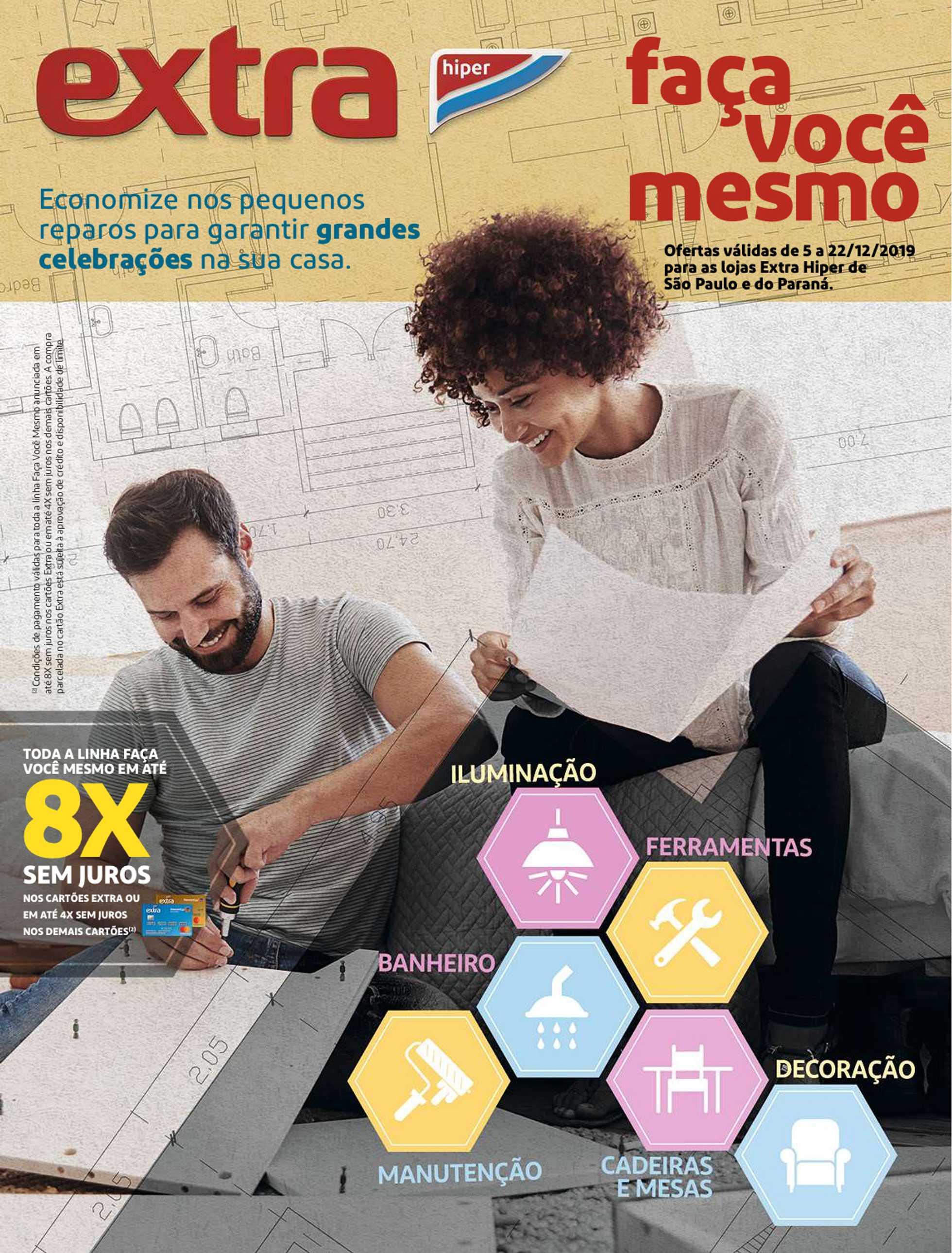 Extra Hipermercado - promo a partir de 05.12.2019 a 22.12.2019 - página 1.