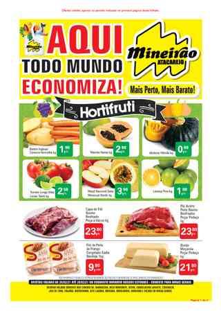 Promoção de Mineirão Atacarejo válida de 25-02-2021 a 28-02-2021