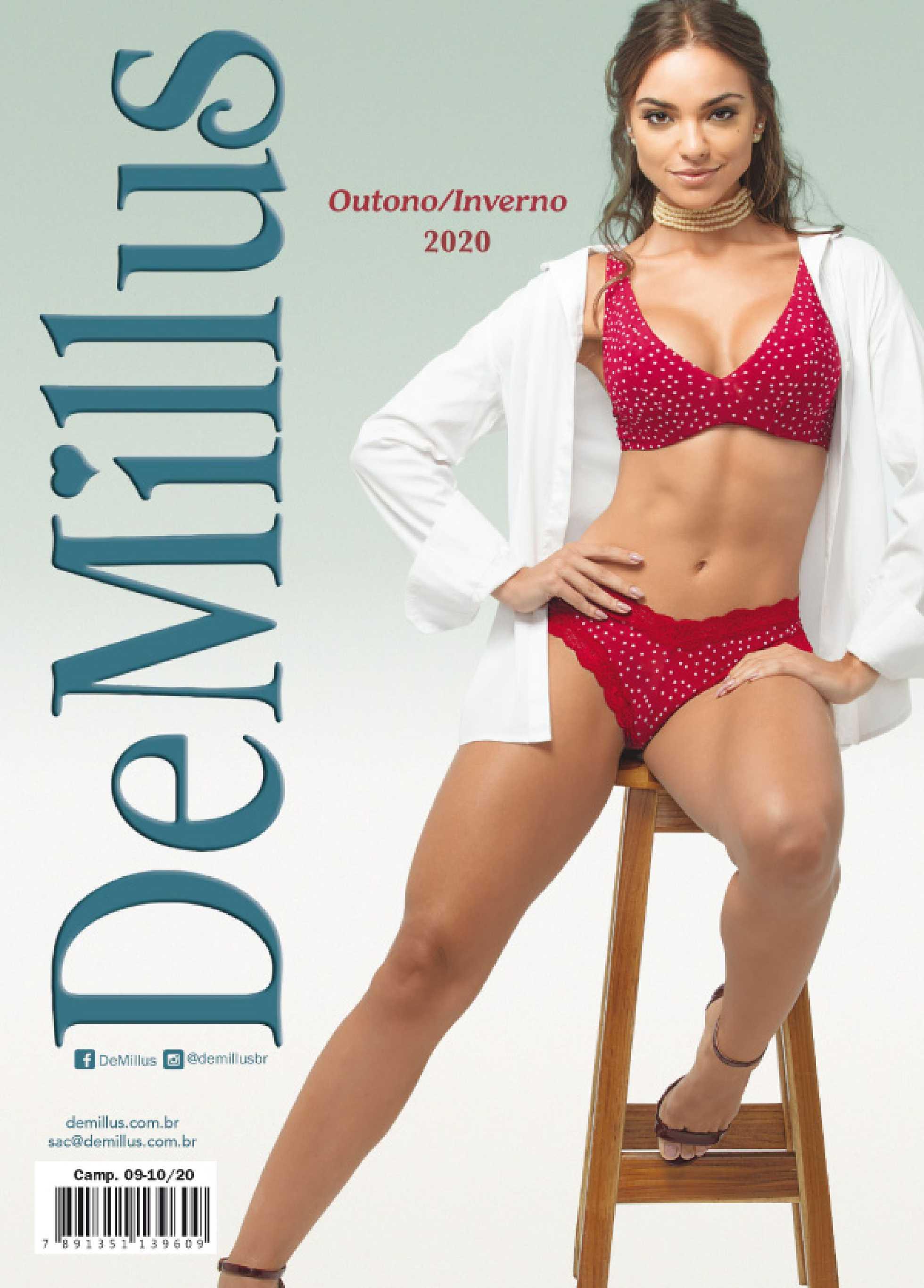 DeMillus - encarte válido de 01.04.2020 até 31.08.2020 - página 1.
