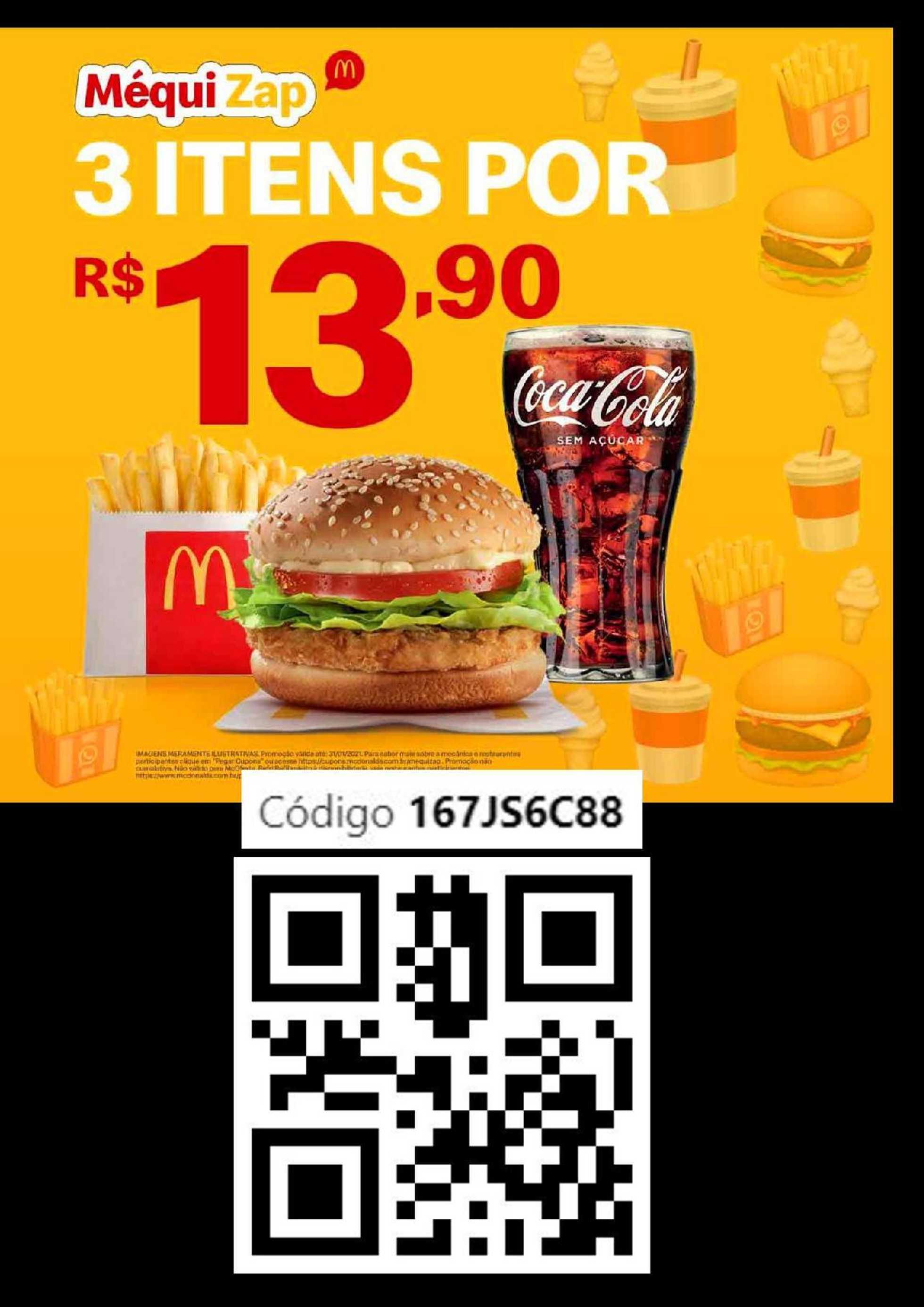 McDonald's - encarte válido de 24.11.2020 até 01.02.2021 - página 1.