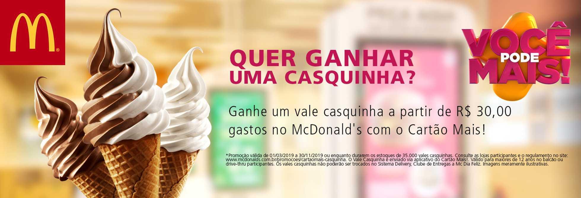 McDonald's - encarte válido de 01.02.2019 até 30.11.2019 - página 1.